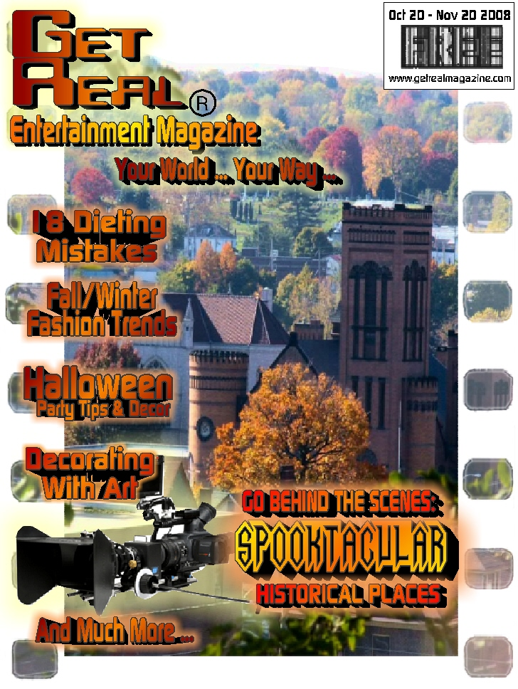 Get Real Entertainment Magazine October 2008