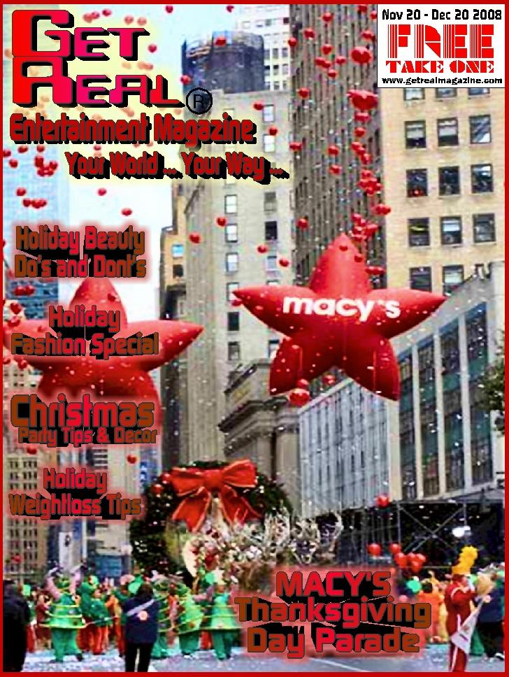 Get Real Entertainment Magazine November 2008